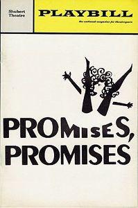 Promises Promises=theater-September 26 to nov. 1-2015-$_35