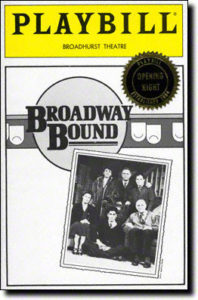 Broadway Bound- Playbill Image-download